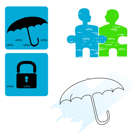 safety - icon set Vector