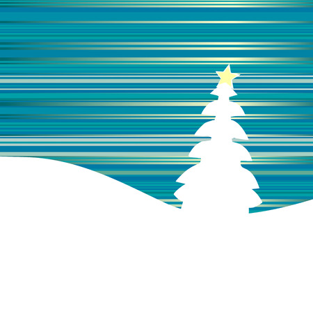 Christmas background, snowflakes Stock Vector - 5825177