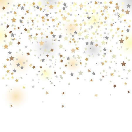 confetti, vector illustration