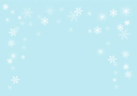 snowflakes, vector illustration  Vector
