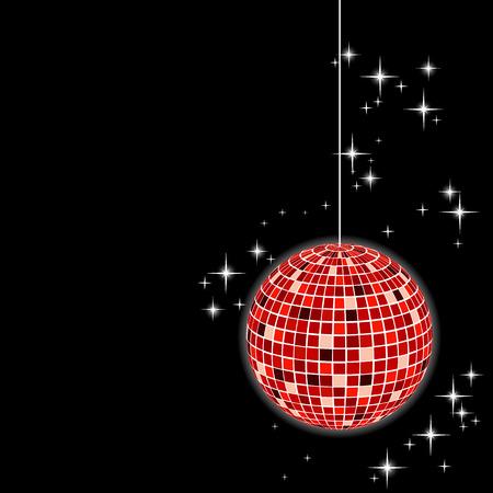 disco sphere - vector Stock Vector - 5907815