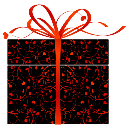 Stylized gift Stock Vector - 5967061
