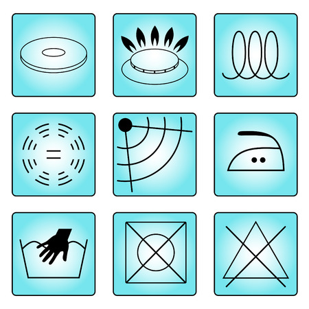 stamps, icons Information Vector