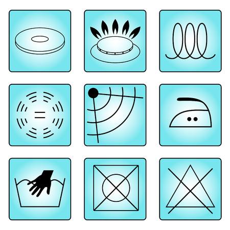 Stamps, pictogrammen informatie