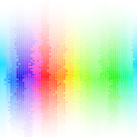 abstract background, rainbow Vector