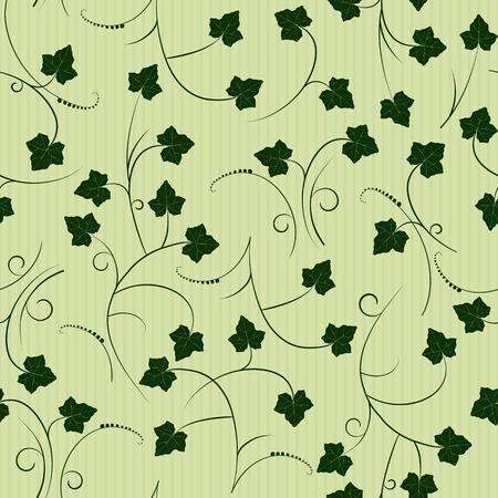 ivy - seamless pattern Illustration
