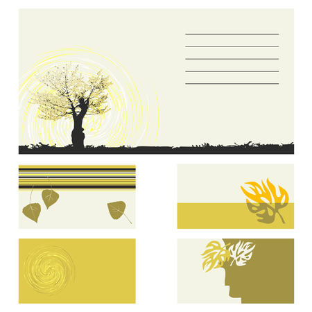 Business card -  collection Stock Vector - 7747488