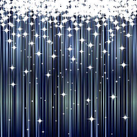 star background: Abstract blue background. Illustration Illustration
