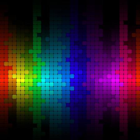 pixelated: Abstract background pattern