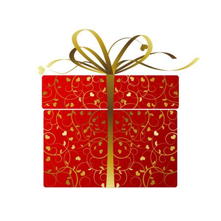 Stylized gift Stock Vector - 8626349