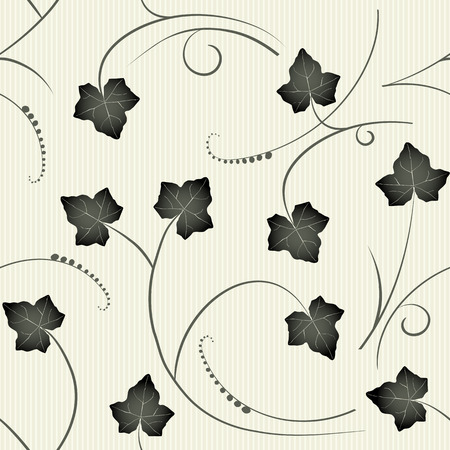 creepers: ivy - seamless pattern Illustration