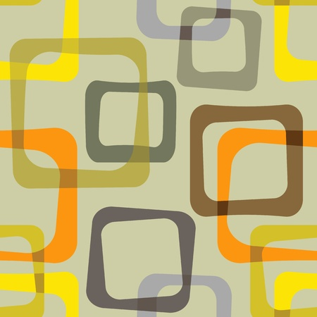 Vintage pattern - illustration Illustration