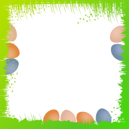 Easter background illustration Vector
