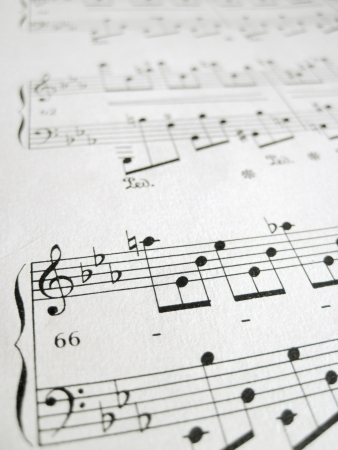 File for musical backgrounds, music notes Stock Photo - 18377023