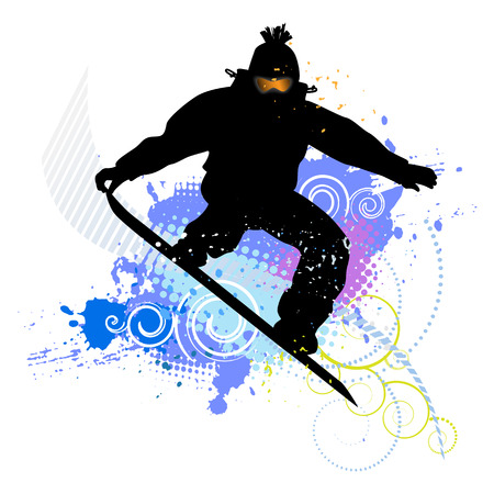3,306 Snowboarder Stock Vector Illustration And Royalty Free ...