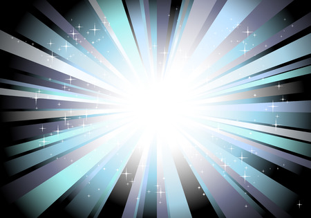 abstract background vector: Disco lights abstract background - vector ilustration Illustration