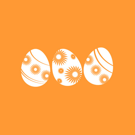 colored: Colored Easter eggs, vector set Illustration
