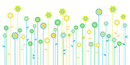 spring background with space for a text Illustration
