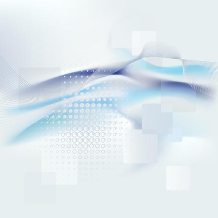 designe: Vector blue abstract background, rainbow
