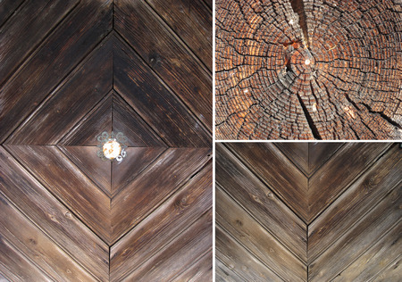 wood textures: Set of wood textures