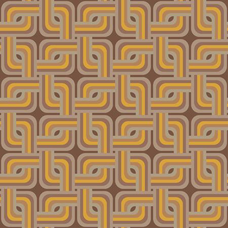 Retro wallpaper Vintage vector pattern Vector