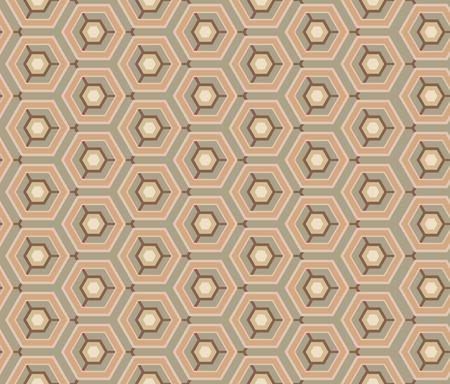 ditch: Retro wallpaper - Vintage vector pattern