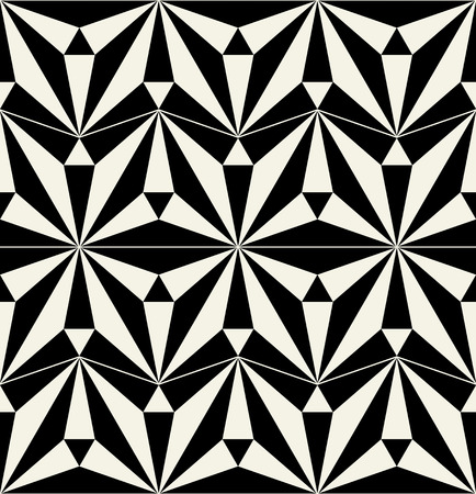 retro pattern: Vector ceramic tiles with seamless pattern Illustration