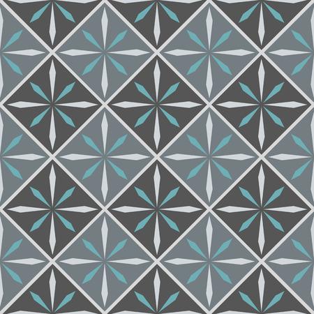 ceramiki: Wektor płytki ceramiczne z szwu wzór Ilustracja