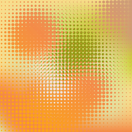 multi colors: Vector abstract background in Autumn colors Illustration