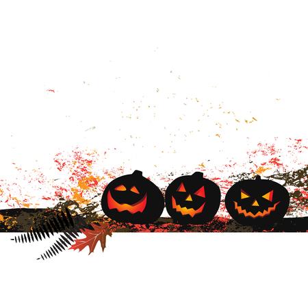 ghouls: Halloween background