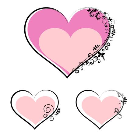 set symbols: valentines day symbols - set