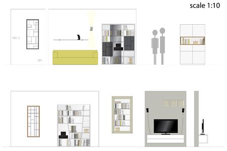 living room design: Furniture. Design living room. Interior furniture.