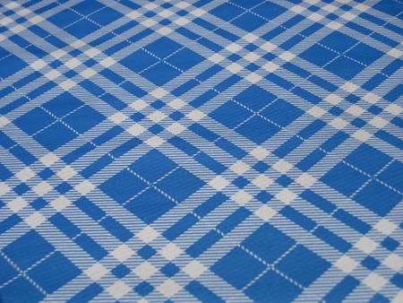 checkered tablecloth: Checkered tablecloth in folk style