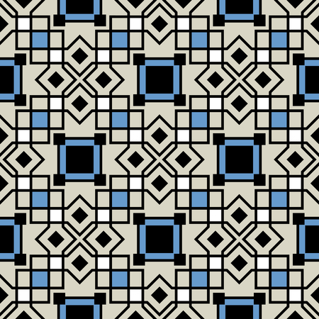 antic: ceramic tiles with seamless pattern