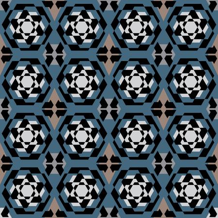 Vector keramische tegels met naadloos patroon Vector Illustratie