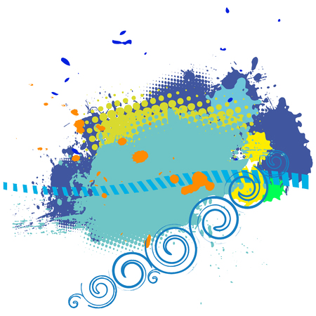 abstract background with space for a text Illustration