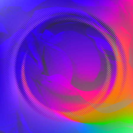 red sound: Vector abstract background, rainbow