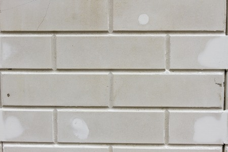 stucco facade: White brick wall, perfect as a background