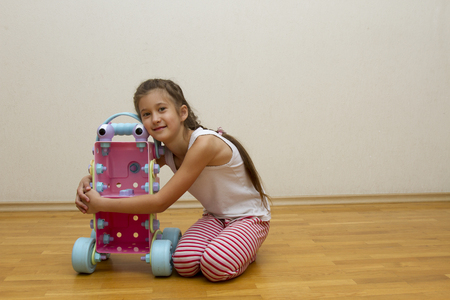 fireman: The girl made the robot out of the constructor