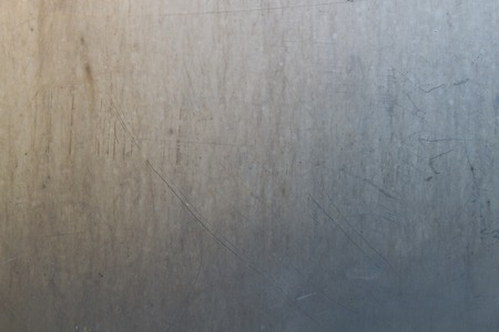 silver background: Stainless steel texture