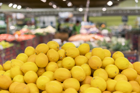 lemon in the store