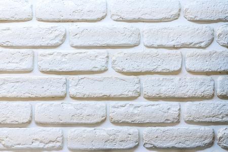 White brick background.