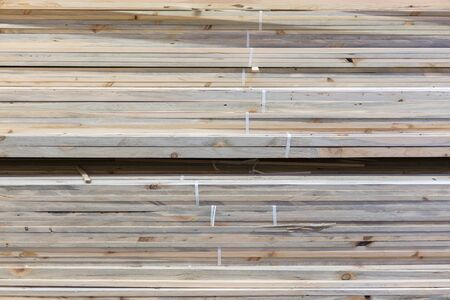 Boards on a rack in a construction store. Construction and repair concept. Stock fotó - 134655103