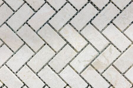 Beige decorative mosaic for decoration. background