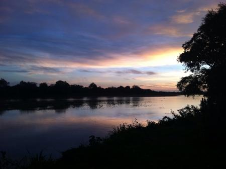 zambian: Zambian river sunrise