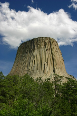 encounters: Devils Tower Cloudscape