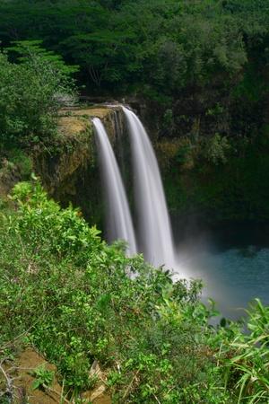 Wailua Falls on Kauai Reklamní fotografie
