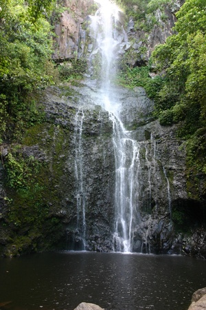 Waterfall on the Road to Hana on Maui, Hawaii Stock Photo - 12331077