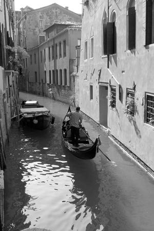 venice: Gondola in Venice Italy