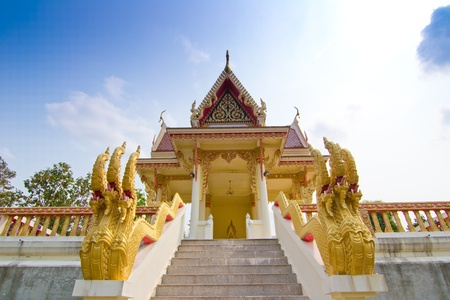 loei: Wat on a mountain  at  Dansai, Loei, Thailand